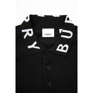 バーバリー BURBERRY ポロシャツ 半袖 メンズ 8013499 ブラック 2019年秋冬新作 diffusion 06