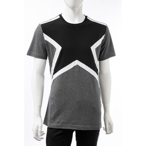 ハイドロゲン HYDROGEN Tシャツ 半袖 丸首 クルーネック メンズ 250610 グレー×ホワイト 2019年秋冬新作 diffusion
