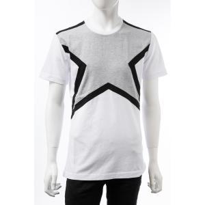 ハイドロゲン HYDROGEN Tシャツ 半袖 丸首 クルーネック メンズ 250610 ホワイト×ブラック 2019年秋冬新作 diffusion
