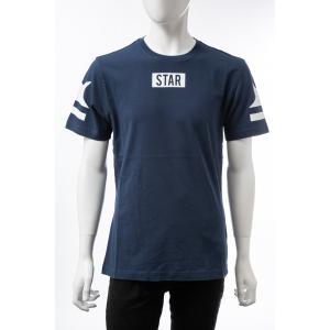 ハイドロゲン HYDROGEN Tシャツ 半袖 丸首 クルーネック メンズ 250614 ネイビー 2019年秋冬新作 diffusion