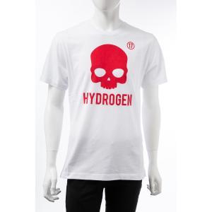 ハイドロゲン HYDROGEN Tシャツ 半袖 丸首 クルーネック メンズ 250634 ホワイト 2019年秋冬新作 diffusion