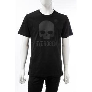 ハイドロゲン HYDROGEN Tシャツ 半袖 丸首 クルーネック メンズ 250634 ブラック 2019年秋冬新作 diffusion