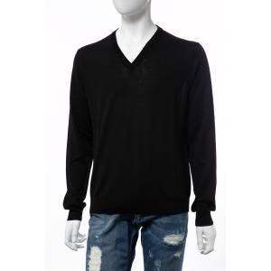 バレンシアガ BALENCIAGA セーター ニット 長袖 Vネック メンズ 583115 T1439 ブラック 2019年秋冬新作|diffusion|04