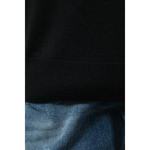 バレンシアガ BALENCIAGA セーター ニット 長袖 Vネック メンズ 583115 T1439 ブラック 2019年秋冬新作|diffusion|07