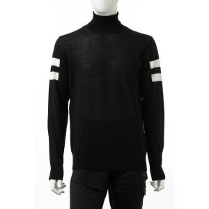 ハイドロゲン HYDROGEN セーター ニット ハイネック メンズ 250802 ブラック 201...
