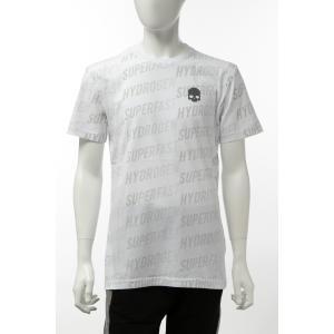 ハイドロゲン HYDROGEN Tシャツ 半袖 丸首 クルーネック メンズ 265606 ホワイト 2020年春夏新作|diffusion