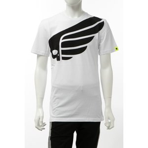 ハイドロゲン HYDROGEN Tシャツ 半袖 丸首 クルーネック メンズ 265608 ホワイト 2020年春夏新作|diffusion