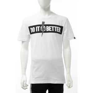 ハイドロゲン HYDROGEN Tシャツ 半袖 丸首 クルーネック メンズ 265610 ホワイト 2020年春夏新作|diffusion