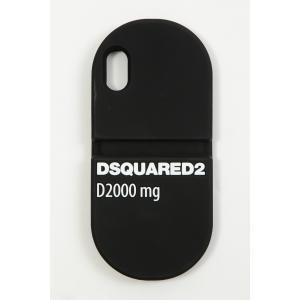 ディースクエアード DSQUARED2 iPhoneケース アイフォンケース iPhoneX/iPhoneXS対応 ITM007355000001 ブラック 2020年春夏新作|diffusion