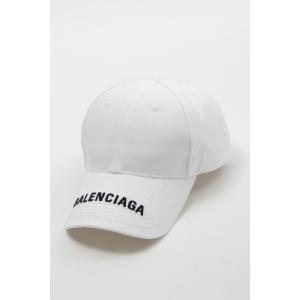 バレンシアガ BALENCIAGA キャップ ベースボールキャップ 帽子 531588 410B2 ホワイト 2020年春夏新作|diffusion