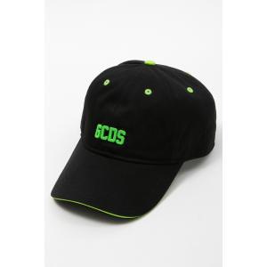 ジーシーディーエス GCDS キャップ ベースボールキャップ 帽子 SS20M010036 グリーン 2020年春夏新作|diffusion