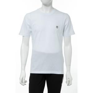 ハイドロゲン HYDROGEN Tシャツ 半袖 丸首 クルーネック メンズ 260110 ホワイト 2020年春夏新作|diffusion