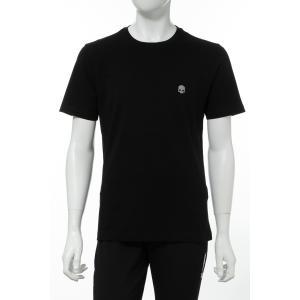 ハイドロゲン HYDROGEN Tシャツ 半袖 丸首 クルーネック メンズ 260110 ブラック 2020年春夏新作|diffusion