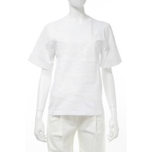 バレンシアガ BALENCIAGA Tシャツ 半袖 丸首 クルーネック レディース 358531 TKK30 ホワイト diffusion