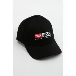 ディーゼル DIESEL キャップ ベースボールキャップ 帽子 CAKERYM-MAX CAPPELLO 00SIIQ 0BAUI ブラック|diffusion