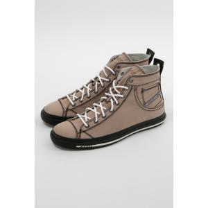 ディーゼル DIESEL スニーカー ハイカット シューズ 靴 EXPOSURE I - sneaker mid メンズ Y00023 P0465 ブラウン|diffusion