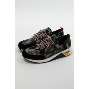 ディーゼル DIESEL スニーカー ローカット シューズ 靴 S-KBY メンズ Y01534 P1845 迷彩|diffusion