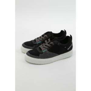 ディーゼル DIESEL スニーカー ローカット シューズ 靴 S-DANNY LC - sneakers メンズ Y01798 P0334 ブラック|diffusion