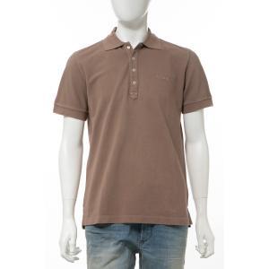 ディーゼル DIESEL ポロシャツ 半袖 T-NIGHT-BROKEN POLO メンズ 00SHEL 0AAPW ブラウン|diffusion