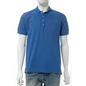 ディーゼル DIESEL ポロシャツ 半袖 T-NIGHT-BROKEN POLO メンズ 00SHEL 0AAPW ブルー|diffusion