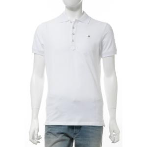 ディーゼル DIESEL ポロシャツ 半袖 T-HEAL POLO メンズ 00SW2T 00MXZ ホワイト|diffusion