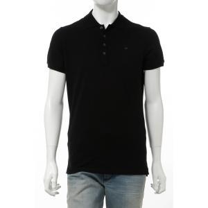 ディーゼル DIESEL ポロシャツ 半袖 T-HEAL POLO メンズ 00SW2T 00MXZ ブラック|diffusion