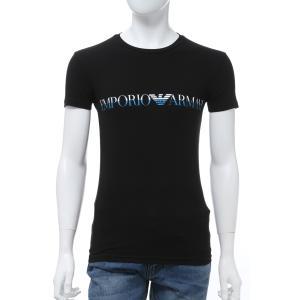 エンポリオアルマーニ Emporio Armani Tシャツアンダーウェア 半袖 丸首 クルーネック メンズ 111035 0P516 ブラック 2020年春夏新作|diffusion
