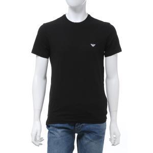 エンポリオアルマーニ Emporio Armani Tシャツアンダーウェア 半袖 丸首 クルーネック メンズ 111019 0P578 ブラック 2020年春夏新作|diffusion