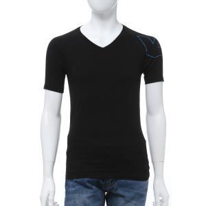 エンポリオアルマーニ Emporio Armani Tシャツアンダーウェア 半袖 Vネック メンズ 111760 0P725 ブラック 2020年春夏新作|diffusion