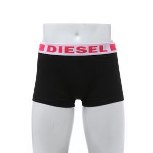 ディーゼル DIESEL パンツアンダーウェア ボクサーバンツ 下着 メンズ 00CKY3 0BAOF ブラック×レッド 2020年春夏新作|diffusion