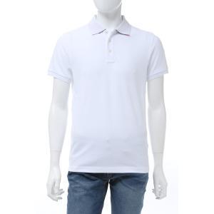 モンクレール MONCLER ポロシャツ 半袖 メンズ 8A70510 84556 ホワイト 2020年春夏新作|diffusion