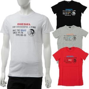 ディーゼル DIESEL Tシャツ 半袖 丸首 クルーネック T-DIEGO-XB MAGLIETTA メンズ 00SIES 0091A|diffusion