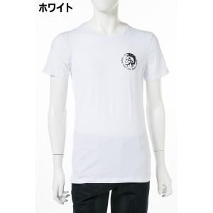 ディーゼル DIESEL Tシャツ アンダーウェア 半袖 丸首 クルーネック メンズ 00SJ5L 0TANL|diffusion|04