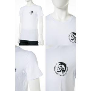 ディーゼル DIESEL Tシャツ アンダーウェア 半袖 丸首 クルーネック メンズ 00SJ5L 0TANL|diffusion|05
