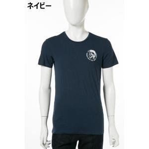 ディーゼル DIESEL Tシャツ アンダーウェア 半袖 丸首 クルーネック メンズ 00SJ5L 0TANL|diffusion|06