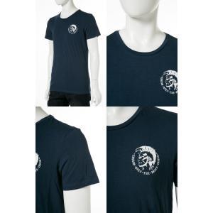 ディーゼル DIESEL Tシャツ アンダーウェア 半袖 丸首 クルーネック メンズ 00SJ5L 0TANL|diffusion|07