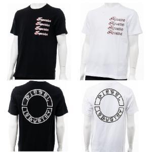 ディーゼル DIESEL Tシャツ 半袖 丸首 クルーネック T-JUST-Y13 MAGLIETTA メンズ 00SSNV 0QAUL|diffusion