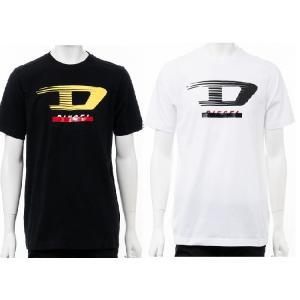 ディーゼル DIESEL Tシャツ 半袖 丸首 クルーネック T-JUST-Y4 MAGLIETTA メンズ 00SSPQ 0091A|diffusion