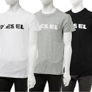 ディーゼル DIESEL Tシャツ 半袖 丸首 クルーネック T-DIEGO-BROK MAGLIETTA メンズ 00STXQ R091B 送料無料|diffusion
