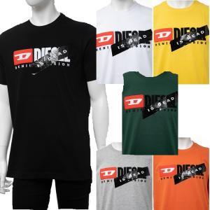 ディーゼル DIESEL Tシャツ 半袖 丸首 クルーネック HC-T-JUST-DIVISION-A MAGLIETTA メンズ 00SVFJ 0CATJ 送料無料|diffusion