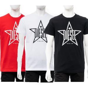 ディーゼル DIESEL Tシャツ 半袖 丸首 クルーネック T-DIEGO-YH MAGLIETTA メンズ 00SNRE 0091A|diffusion