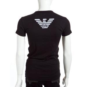 アルマーニ エンポリオアルマーニ Emporio Armani Tシャツアンダーウェア Tシャツ 半袖 Vネック メンズ 111274 CC725 ブラック A再値下
