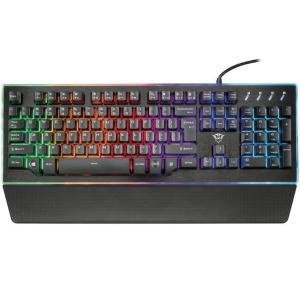 「1ヶ月レンタル」「取寄せ品」 Trust International Trust Gaming GXT 860 Thura Semi-mechanical Keyboard 21839 USB 有線 英語104 デジコーデ|digi-coordi