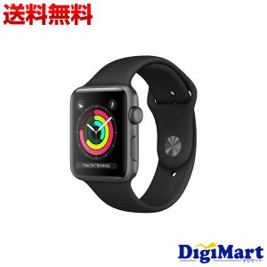 アップル Apple Watch Series 3 GPSモデル 38mm MTF02J/A [ブラ...
