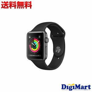 アップル Apple Watch Series 3 GPSモデル 42mm MTF32J/A [ブラ...
