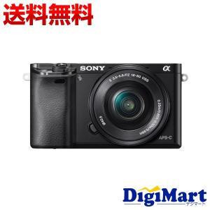 ソニー SONY α6000 ILCE-6000L パワーズームレンズキット [ブラック] デジタル...