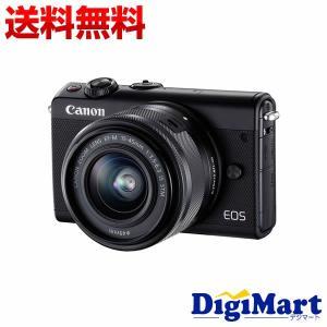 【送料無料】キャノン Canon EOS M100 EF-M15-45 IS STM レンズキット [ブラック] 一眼レフカメラ【新品・国内正規品・ダブルズームキット化粧箱】