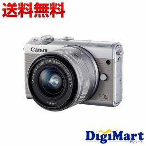 キャノン Canon EOS M100 EF-M15-45 IS STM レンズキット [グレー] ...