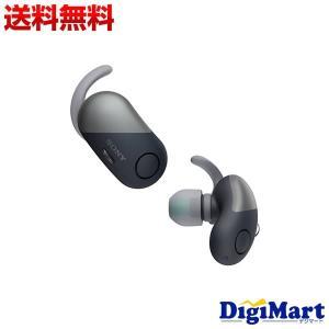 ソニー SONY WF-SP700N (B) ワイヤレス Bluetoothイヤホン [ブラック]【...
