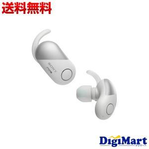 ソニー SONY WF-SP700N (W) ワイヤレス Bluetoothイヤホン [ホワイト]【...